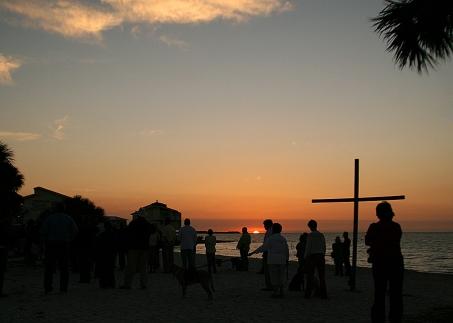 Sunrise Service 20120408